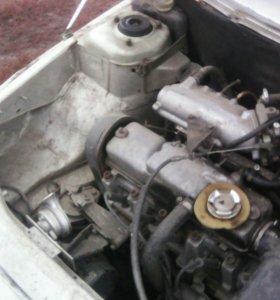 Двигатель 1.5 на ваз 2110,11,12 с навесным