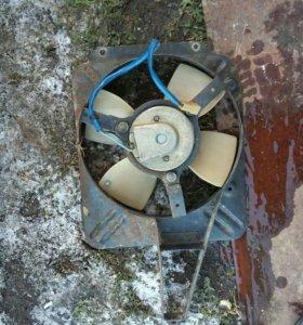 Винтелятор радиатора ваз 2107
