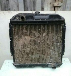 Радиатор системы охлаждения Газ-52