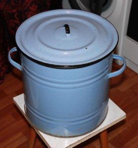 Бак эмалированный 40 литров (кастрюля)