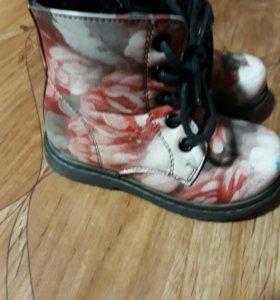 Детские ботинки,осень-весна.