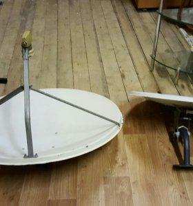 Спутниковые тарелки с конвекторами