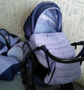 Детская коляска 3в 1 Zippy + ванночка в подарок