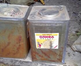 Олифа 16 кг Оксоль