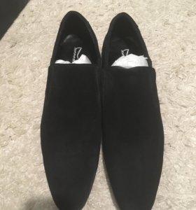 Мужские ботинки замшевые