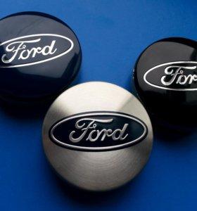 Оригинальные новые колпачки на литые диски Ford