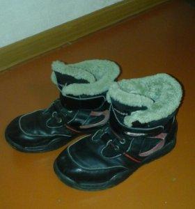 Зимняя обувь кож