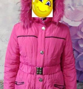 Куртка на синтепоне, подростковая. Размер 44 - 46.