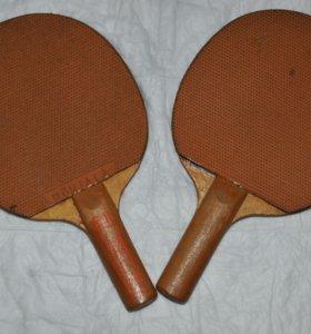 Ракетки для настольного тенниса.