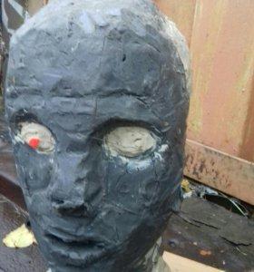 Пластелин для моделирования. Голова.