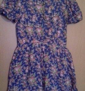 Платье 36 размер, летнее