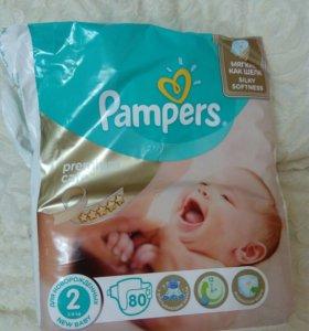 Подгузники Pampers premium  2