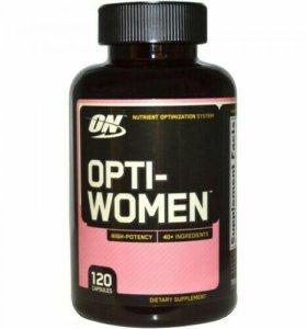 Витамины для женщин Opti-women
