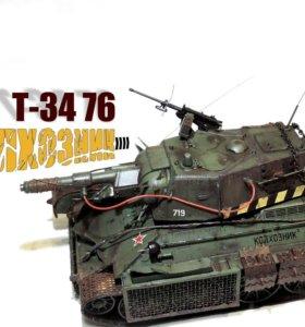 "Т-34 76 ""колхозник"""