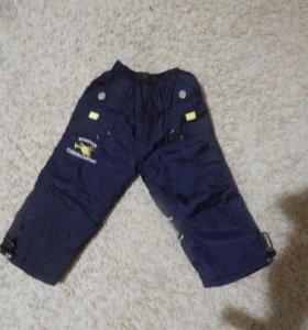 Утепленные брюки на мальчика