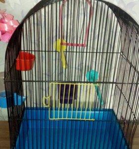 Клетка для птиц 35×25×50
