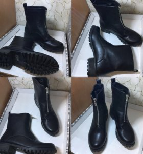💎Новые черные ботинки ♥️ сейчас скидка 🎁
