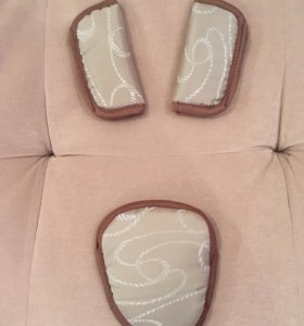 Мягкие накладки на ремни безопасности для малыша