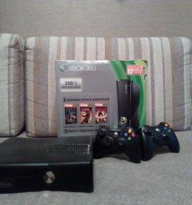 Xbox 360+ Kinect+ 6 игр