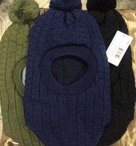 Зимние шапки 52-54р