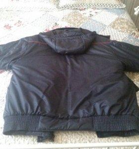 Зимняя куртка полицейского
