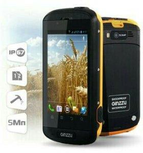 Смартфон Ginzzu R8dual андроид4(батареяSamsung)