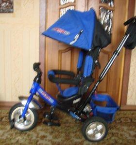 Велосипед трехколесный Trike с родительской ручкой