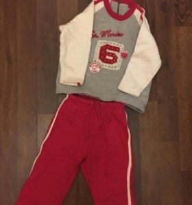 Спортивные костюмы для девочки, тёплый костюм