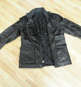 Мужская кожаная куртка Robert Comstock