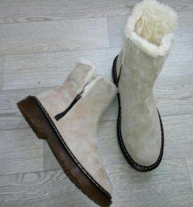 Зимние ботинки 40 р. Новые.