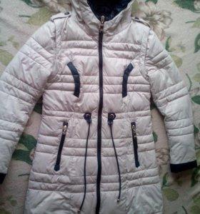 Зимняя куртка 48размер