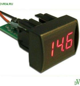 Индикатор напряжения и температуры двигателя