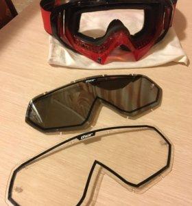 Очки кроссовые THOR S14 HERO RED/BLK