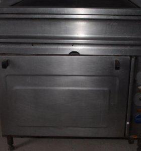 Плита электрическая 2х-комфорочная с духовкой б/у