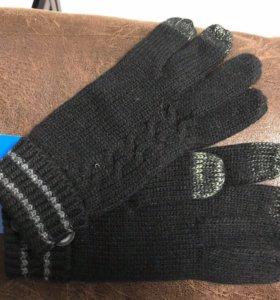 Перчатки мужские для сматрфона