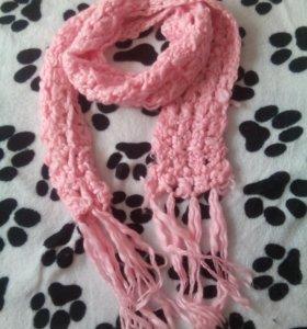 Объемный шарф/снуд