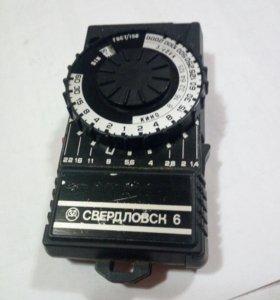 """Фотоэкспонометр """"Свердловск-6"""""""