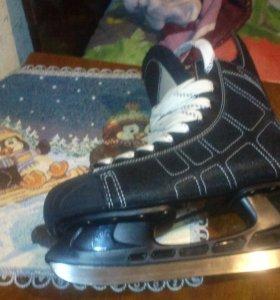 Лыжные коньки.
