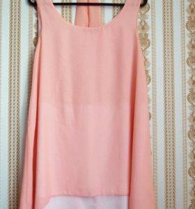 Платье нежное шифоновое