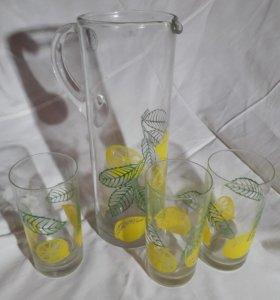 Графин и 3 стакана