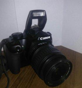 Фотоаппарат Canon EOS 1000d kit 18-55 black