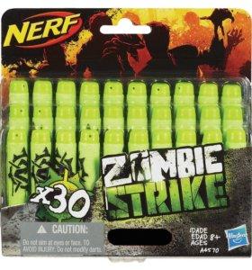 30 стрел для бластеров NERF - Zombie Strike