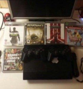 PlayStation 3, super slim, 500gb.