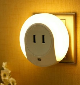 Интеллектуалтный LED ночник- зарядка