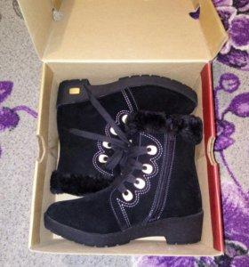 Зимние женские ботиночки 35 размер