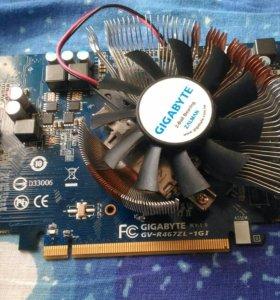 Видеокарта gigabyte gv-r467zl-1gi