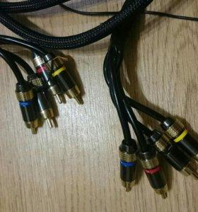 Силовые провода и межблочный кабель
