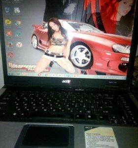 "Ноутбук Acer 2яд, 2gb 15,4"""