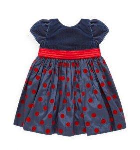 Шикарное платье Mothercare 12-24 мес