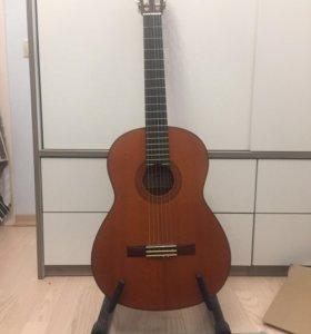 Yamaha cg 122 mc классическая гитара